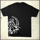 Silver Star Plaid Blast Emblem Cadillac Style Logo Mens T-Shirt Black SMALL NEW