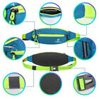 Waist Running Pocket Zip Belt Bag Hiking Jogging Travel Pouch AU