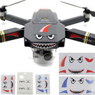 Shark decoration Waterproof Decal Skin Sticker for DJI Mavic Pro RC Drone 2Color