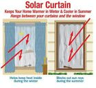 Внешний вид - Energy Saving Solar Curtain Panel, Prevent Heat Loss In Winter, Keep Cool Summer