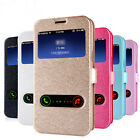 Luxury Fashion Ultra-thin View Flip Leather Phone Case Cover Lot Smart Phones