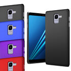For Samsung Galaxy A8 2018 - Slim Thin Hybrid Hard Case Clip On Cover & Screen