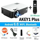 AUN LED Proyector AKEY1/Plus for Home Theater, 1800 Lumens, Support Full HD Mini