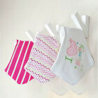 3/4Pcs Infant Kids Baby Bibs Boy Girl Saliva Towel Dribble Bandana Apron Burp