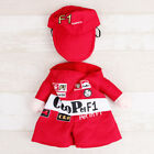 Pet Dog Cat Puppy Coat Clothes Racing Driver Cosplay Apparel Costume Clothing