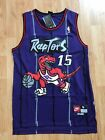 Vince Carter #15 Purple Toronto Raptors Throwback Basketball Jersey Stitched Men
