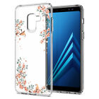 Galaxy A8 (2018) | Spigen® [Liquid Crystal Blossom] Nature Slim TPU Cover Case