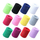 Cotton Wristbands Wrist Band Bands Sweatbands Absorb Sweat Band For Sport Tennis