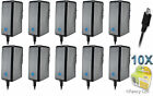 10 New AC Universal Battery Travel Home Wall Charger for Cell Phones (CA)