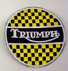 Patch Patch Triumph Motorcycles Embroidery Bestickt Heißklebefähig cm 8 €4.2 EUR on eBay