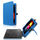 For T-Mobile LG G Pad X2 8.0 Plus 2017 Tablet Folio Case Cover Stand w/ Keyboard