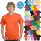 Gildan Mens Plain T Shirts Solid Cotton Short Sleeve Blank Tee Top S-3XL G500 image