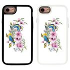 Cute Birds 2 Piece Back Case Cover For Apple iPhone 7 & 8 - S1298