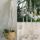 Внешний вид - Pot Holder Macrame Plant Hanger Hanging Planter Basket Jute Rope Braided CraftDY