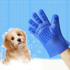 1Pair Pet Bath Glove Silicone New Anti-scratching Dog Cat Massage Cleaning T9F3S