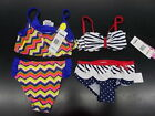 Toddler  Girls Flapdoodles 28- 34 2pc Multi-Color or Navy Swimsuits Sz 2/2T-6X