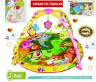 Newborn To Toddlers comfy Piano Safari Gym Kick, Lay & Play Baby Fitness Playmat