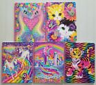 "Lisa Frank Retro Glitter Spiral Notebook 8x10.5"" ~ YOU PICK ~ Multiship discount"
