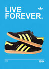 ADIDAS CASUALS CLASSIC TRAINERS POSTERS PRINTS - Oasis - Gallagher - Stone Roses <br/> BUY 2 GET 1 FREE ! - BEST QUALITY - FREE FAST DELIVERY