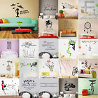 Letter Quotes Wall Stickers Family DIY Removable Vinyl Decal Mural Home Decor