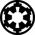 Galactic Empire-Symbol-Logo - Star Wars- Vinyl Sticker Decal $2.99 CAD on eBay