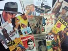 BB27: Lot of 13 Vintage Men Magazine Cover DIE CUTS for CARD MAKING