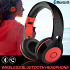Foldable Bluetooth Stereo Headphones Kids DJ Sports Headset for iPod PC MP3