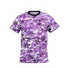 T-Shirt Military Ultra Violet Digital Camo Quality 5685 Rothco
