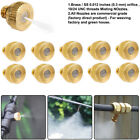 "Brass Misting Nozzles Water Mister Sprinkler For Cooling System 0.012"" 10/24 UNC"