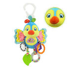Cute Stroller Hanging Toy Plush Animal Rattle Bed Bell Infant Baby Comfort Toy