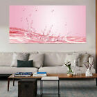 Pure Abstract Water Flower Oil Painting Art Print on Canvas Picture Home Decor