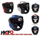 JAYEFO BOXING MMA HEAD GEAR PROTECTOR KICKBOXING SPARRING HEAD GUARD NOSE CHIN