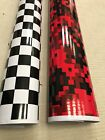 GLOSS CHECK CHEQUERED VINYL CAR WRAP WRAPPING GRAPHIC sticker bomb  Car Roof