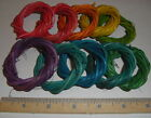 Small Vine Rings Vine Wreath Assorted Colors (Qty 10-25) DIY Bird Toy Part