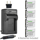 Kastar Battery AC Charger for Fuji NP-45 NP-45S BC-45B Fujifilm FinePix Z110