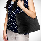 """Pursfection Expandable Tote Bag in Quilted Fabric -10"""" handles pick a color ^x"""