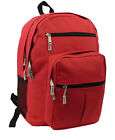 Backpack 18 inch School Book Bag Multi Pockets College Student Day Pack-LM199
