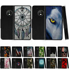 For Motorola Moto G5 Plus Leather Flip Wallet Case Stand Cover Card Slot