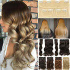 50cm in inch - Best Weft Full Head Clip In Hair Extension 3PCS Soft Natural As Human 190g Thick