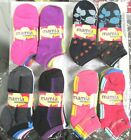 LOT OF 12 PAIRS--LOW CUT LADIES FASHION SOCKS 9-11 POLYESTER