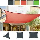 Shade Sail Sun Awning Canopy Outdoor Garden Pool Triangle Square Rectangle