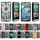 For HTC Desire 520 Hard Fitted 2 Piece Snap On Case