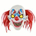 Creepy Ghosts Zombie Head Evil Clown Mask Scary Halloween Costume Cosplay