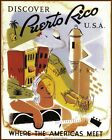 where to get photo paper - Discover Puerto Rico 1930 Where America Meets Vintage Poster Print Retro Travel