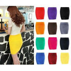 Sexy Mini Fitted Skirt Pencil Fashion Tight Shorts Hot Dress Women Stretch Slim