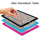 Kids Children Tablet Pad Educational Learning Toys Gift For Boys Girls Baby US