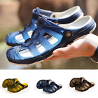 Men's shoes Breathable Slippers Hollow out Beach Sandals Garden Hole Summer New