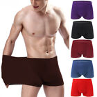 Soft  Men Boxer Briefs Underpants Knickers Shorts Cotton Underwear Sleepwear