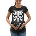 Funny Halloween Skeleton Baby Pregnancy T Shirt Maternity Womens Top Shirt H13