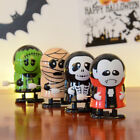 Внешний вид - Halloween Clockwork Funny Wind Up Bounce Toy Props Toy Jumping Pumpkin Monster